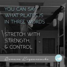 3 words to describe Pilates