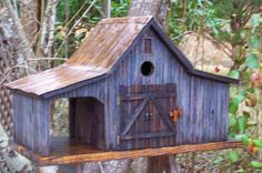 Old Farm Shed bird house