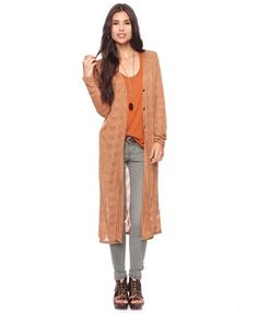 Great Duster Cardigan, entire outfit perfect