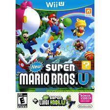 This is New Super Mario Bros + New Super Luigi U!  New Super Mario Bros. U + New Super Luigi U