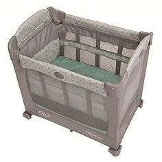 Graco Travel Lite Crib with Stages Keaton - Click image twice for more info - See a larger selection of baby playard at http://zbabyproducts.com/product-category/baby-playard/ - baby, infant, nursery, kids, child, toddler, baby products, baby gift ideas.