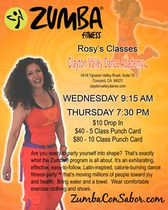 Come and try Zumba with me!