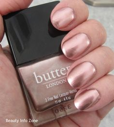 Boho Rock:  Butter London Treacle WINK Cream Eyeshadow and Goss Nail Lacquer