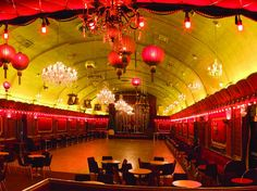 The 1950s in a Brockley ballroom