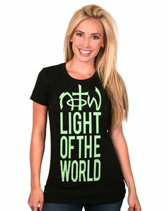 $22.99 NOTW Light Of The World - Christian Girls T Shirt #Clothes
