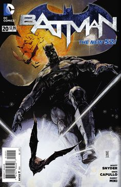 Batman #20 variant - Nowhere Man, Part 2 of 2; Ghost Lights, Part 2 of 2 (Issue)