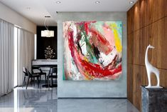 Large Painting on Canvas,Original Painting on Canvas,painting original,unique bedroom decor,modern wall canvas Modern Oil Painting, Large Painting, Bathroom Wall Art, Modern Wall Decor, Texture Art, Abstract Wall Art, Large Wall Art, Wall Canvas, Art Decor