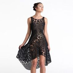 "Nervous System - Kinematics-dress - ""4D-printed"" dress - DE-IN"