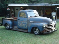 1951 Chevrolet Pick Up, well worn