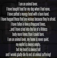 animal shelter worker quotes - Google Search