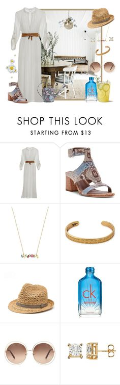 """""""My Sister's Summer Cottage ..."""" by krusie ❤ liked on Polyvore featuring Eberjey, Donald J Pliner, Betsey Johnson, Calvin Klein, Chloé and Canopy Designs"""