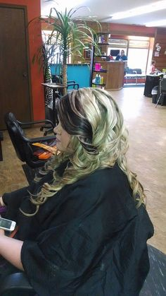color and hair style