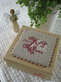 Boîte de Noël grille V. Enginger