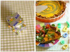 Petite tarte fondante au légumes et #kiri ! Une recette parfaite pour petits et grands enfants :)