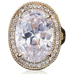La Mia Cara Jewelry - Graziella - CZ Diamond Gold Ring