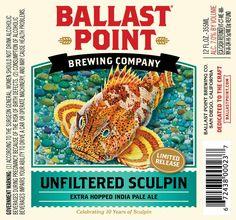 Ballast Point Unfiltered Sculpin