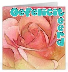 Ik geef je een roosje mijn roosje..., wenskaart van www.kaartlandwenskaarten.nl https://www.facebook.com/KaartlandWenskaarten
