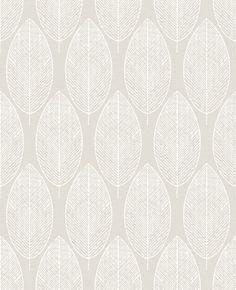GRAHAM & BROWN Vliestapete »Skandinavische Blätter« für 21,99€. Hochwertige Qualität und Verarbeitung bei OTTO
