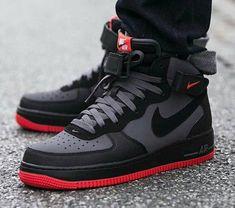 b524b44271e Resultado de imagen para nike forCE ONE NEGRO Y NARANJA Nike Shoes For Men