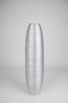 Decorative Tall Floor Vase Wood Height Cm Silver By - Cylinder floor vase silver