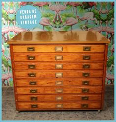 vintage architects drawers