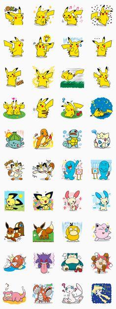 深受大朋友、小朋友喜愛的Pokémon,首次於LINE的貼圖小舖歡樂登場!趕快將Pikachu等您再也熟悉不過的Pokémon下載到手機上,於聊天室度過熱鬧的傳訊時刻☆