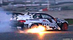 750HP Supercharged BMW M3 E92 Drifting & Spitting Flames!