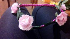 Ružová gumičková
