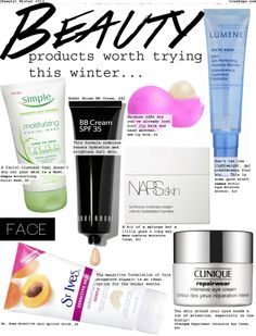Beauty Products Worth Trying This Winter