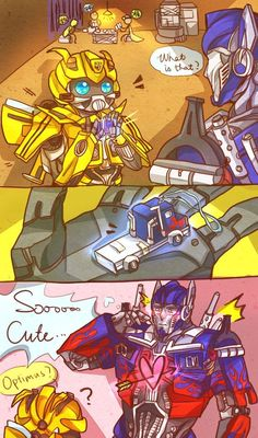 Bumblebee's crafty-cute X3