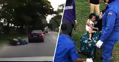 (Video) Ibu dan bayi dilanggar dan nyaris maut digilis kereta   Sumber (Video) Ibu dan bayi dilanggar dan nyaris maut digilis kereta thereporter