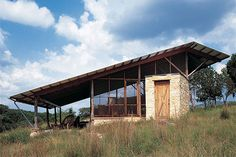 The Hill Country Texas - Jacal by Lake Flato Architects