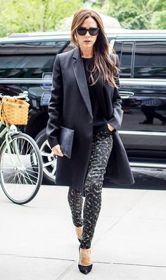 """""""Trust your gut, not a stylist or a rule maker. There is nothing worse than seeing a woman out in clothes that she obviously thinks she should wear. Her discomfort is what you see first. And like I said before, look at yourself from every possible angle before you leave the house,"""" —Victoria Beckham"""