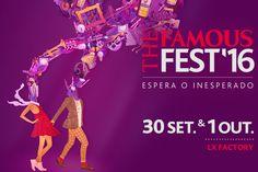 Mario Belem cria imagem e escultura para o THE FAMOUS FEST16| Notícias | Notícias e Media | PrimeDrinks