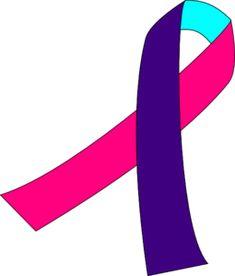 Thyroid Cancer Ribbon clip art - vector clip art online, royalty free & public domain