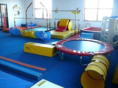 One of my kids better do gymnastics so i can have this for Indoor gym equipment for preschool