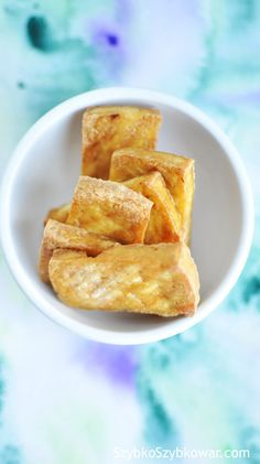 Grillowane tofu.