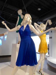 Emma Stone La La Land Mia Someone in the Crowd blue dress