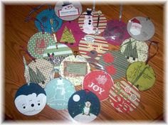 Lavoretti di natale con cd usati - Ornamenti per albero