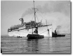 Australia Immigration History | Immigration Museum Migrant Ship Austurias and The Port Tugs