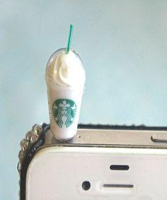 Starbucks frappucino phone plug