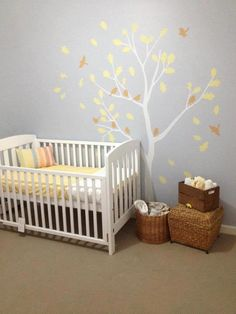 Our Nursury thanks to 41 Orchard Tree Wall decal