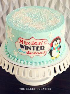 winter onederland birthday cake | Winter Onederland - by TheBakedEquation @ CakesDecor.com - cake ...