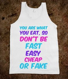 You are what you eat! - Get in my Closet - Skreened T-shirts, Organic Shirts, Hoodies, Kids Tees, Baby One-Pieces and Tote Bags