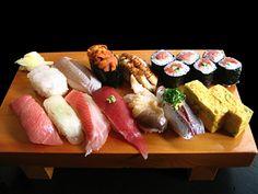 Sushidai - Michelin recommended Sushi, lunch 4000 yen, open 05:00-14:00 Tsukiji