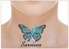 Ok this is great  , I wouldn't want it on my neck but the one I wanted on my arm  with the ribbon cancer colors . yep this  just might be it