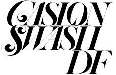 Daylight Caslon Headline D F 2010
