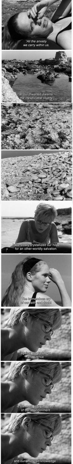 Persona, directed by Ingmar Bergman