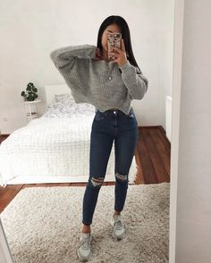 37 The best casual outfits for teenagers - Out The best casual outfits for teenagers - Outfits - School is furnishing ideas for Teen Fashion is furnishing Casual School Outfits, Cute Comfy Outfits, Cute Casual Outfits, Winter Fashion Outfits, Women's Fashion Dresses, Outfits For Teens, Stylish Outfits, Cute Outfit Ideas For School, Teenage Outfits For School