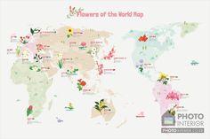 아이방 세계지도 롤스크린/세계지도 벽지 - 블링블링 세계 나라꽃 지도! : 네이버 블로그